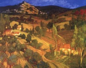 Provencal Landscape by Philip Craig