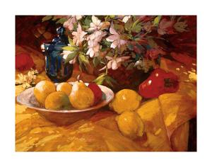 Still Life and Pears by Philip Craig