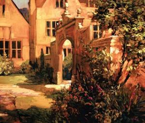 Sunlit Courtyard by Philip Craig