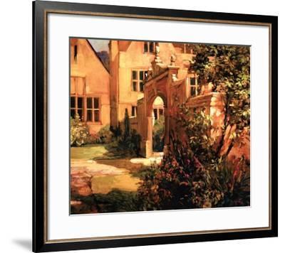 Sunlit Courtyard