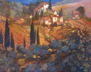 View From San Gimignano by Philip Craig