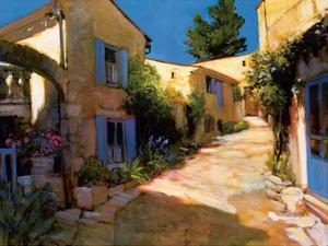 Village in Provence by Philip Craig