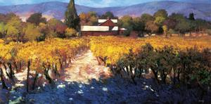 Vineyard Afternoon by Philip Craig