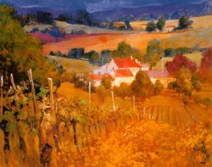 Vineyard Hill by Philip Craig
