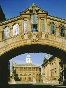 Bridge of Sighs and the Sheldonian Theatre, Oxford, Oxfordshire, England, UK by Philip Craven