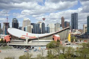 City Skyline, Calgary, Alberta, Canada, North America by Philip Craven