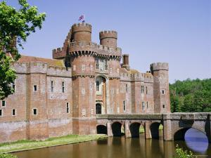 Herstmonceux Castle, East Sussex, England, UK, Europe by Philip Craven