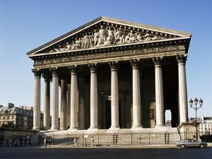 La Madelaine Church, Paris, France by Philip Craven