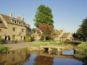 Lower Slaughter, the Cotswolds, Gloucestershire, England, UK by Philip Craven