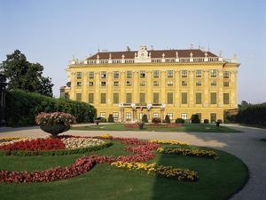 Palace and Gardens of Schonbrunn, Unesco World Heritage Site, Vienna, Austria by Philip Craven