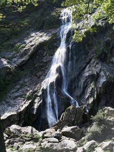 Powerscourt Waterfall, County Wicklow, Leinster, Eire (Republic of Ireland) by Philip Craven
