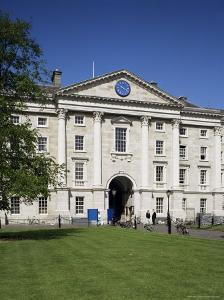 Queen Elizabeth's College of the Holy and Undivided Trinity, Trinity College, Dublin, Eire by Philip Craven