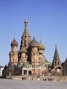 St. Basil's Cathedral, Red Square, Unesco World Heritage Site, Moscow, Russia by Philip Craven