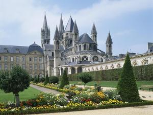 St. Stephens Christian Church, Abbaye Aux Hommes, Caen, Basse Normandie (Normandy), France by Philip Craven