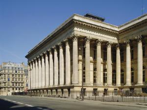 The Bourse (Stock Exchange), Paris, France, Europe by Philip Craven