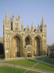 The Cathedral, Peterborough, Cambridgeshire, England, UK by Philip Craven