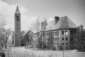 Exterior of Cornell University Buildings by Philip Gendreau