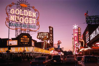Fremont Street in Las Vegas by Philip Gendreau