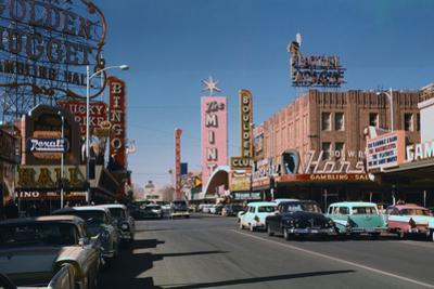 Las Vegas Street Scene by Philip Gendreau
