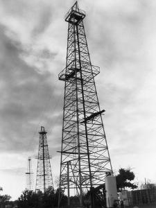 Oil Wells in Oklahoma by Philip Gendreau