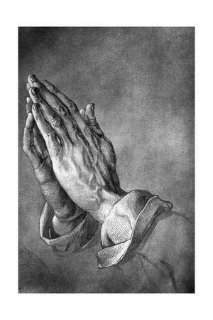 Study of Praying Hands by Albrecht Durer