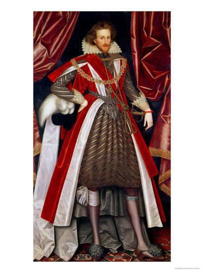 Philip Herbert, 4th Earl of Pembroke, circa 1615-William Larkin-Giclee Print