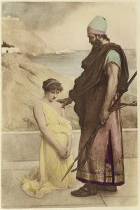 A Prisoner of Spear and Arrows by Philip Hermogenes Calderon