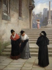 His Reverence, 1876 by Philip Hermogenes Calderon