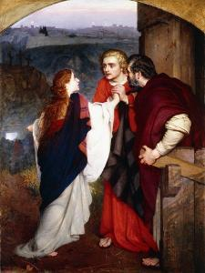 Mary Magdelene Giving News of the Resurrection to the Disciples, 1860 by Philip Hermogenes Calderon