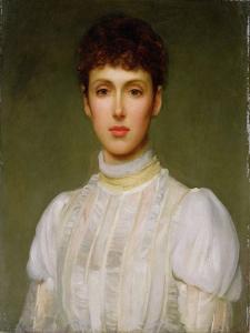 Portrait of a Woman by Philip Hermogenes Calderon