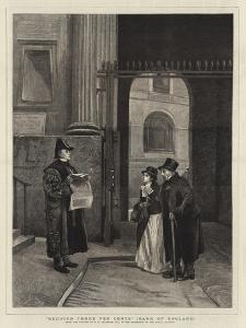 Reduced Three Per Cents, Bank of England by Philip Hermogenes Calderon