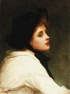 The Black Hat, 1892 by Philip Hermogenes Calderon