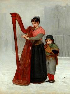 The Orphans, 1870 by Philip Hermogenes Calderon