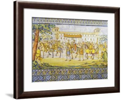 Philip II Entering Valladolid--Framed Giclee Print