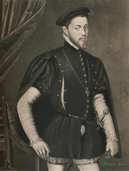 'Philip II of Spain', c16th century, (1904)-Unknown-Giclee Print