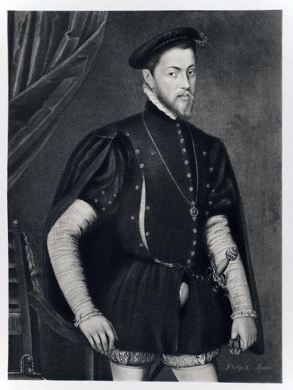 Philip II of Spain-Anthonis van Dashorst Mor-Giclee Print