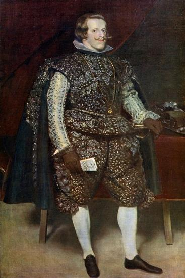 Philip IV of Spain in Brown and Silver, C1631-1632-Diego Velazquez-Giclee Print