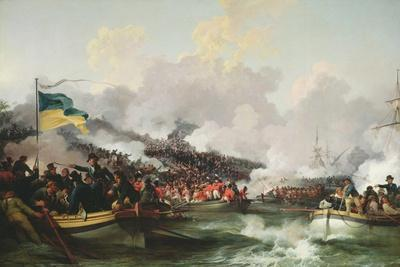 Landing of British Troops at Aboukir, 8 March 1801, 1802