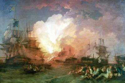 The Battle of the Nile, 1800