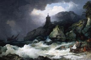 The Shipwreck, 1793 by Philip James De Loutherbourg
