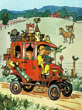 Moving Day - Jack and Jill, August 1956