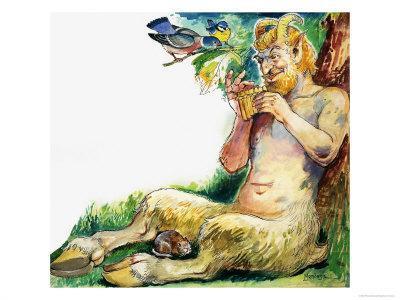 Pan, the Greek God of Nature