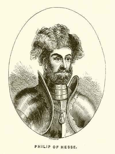 Philip of Hesse--Giclee Print