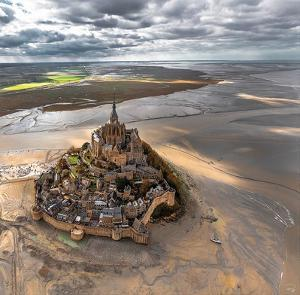 Mont-Saint-Michel by Philip Plisson