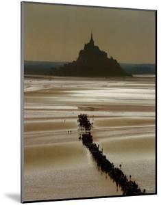 Mont St. Michel by Philip Plisson