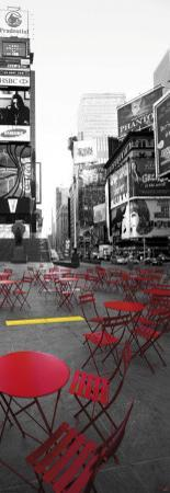 Terrace in Times Square by Philip Plisson