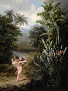 Cupid Inspiring the Plants with Love, Painted for Robert Thornton's Book 'New Illustration of the… by Philip Reinagle