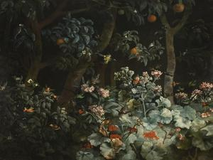 Foliage, Flowers and Birds, 1796 by Philip Reinagle