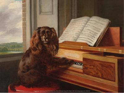 Portrait of an Extraordinary Musical Dog, 1805