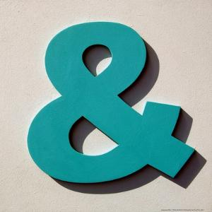 Ampersand Blue by Philip Sheffield